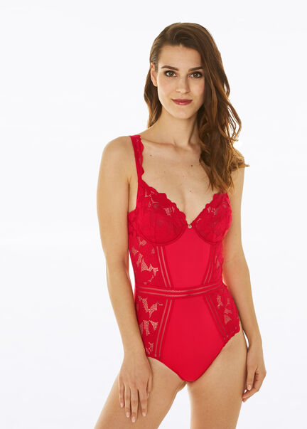 Body a armatures Thelma rouge femme