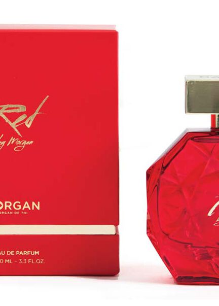 Parfum Red by Morgan 100ml rouge femme