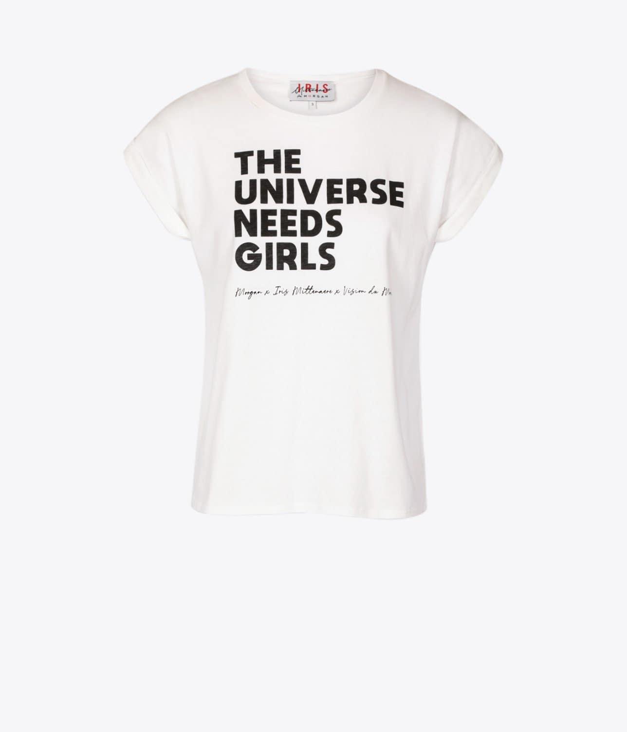 T-shirt Morgan x Iris Mittenaere x Vision du monde
